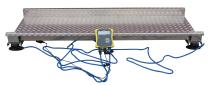MARECHALLE VEIEPLATTFORM Rustfri veieplattform True-test vektceller Mål: 2,20 x 0,80 m Vekt: 55 kg