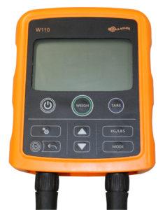 Display W110 til storfevekt